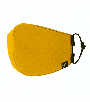Buy Hygienic Yellow Mustard Cotton Mask in Vaho Barcelona. Offer!! off discount